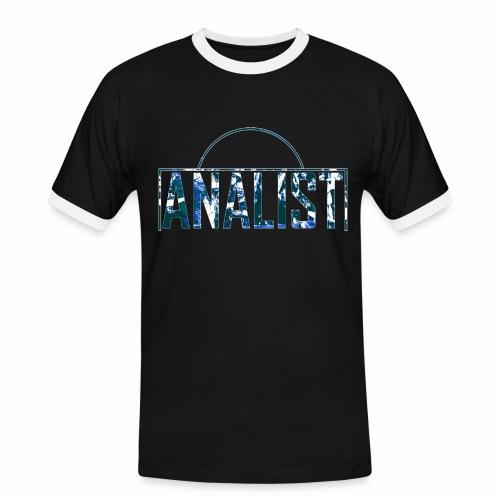 ANALIST - Mannen contrastshirt