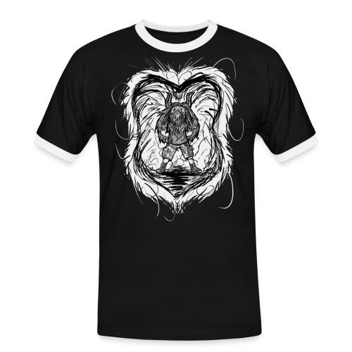 Horned Metalhead - Men's Ringer Shirt