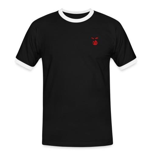 Malvisione rossa - Maglietta Contrast da uomo