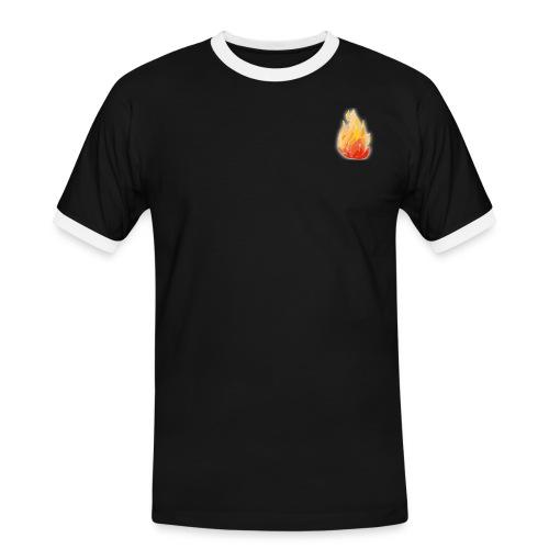 erhoehte waldbrandgefahr large png - Männer Kontrast-T-Shirt