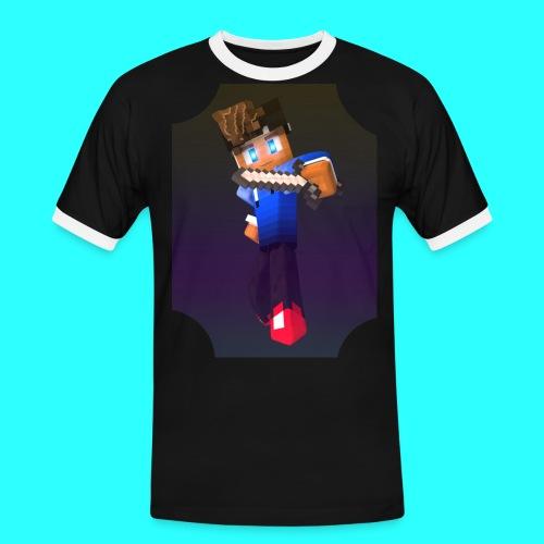 Mit Skin - Männer Kontrast-T-Shirt