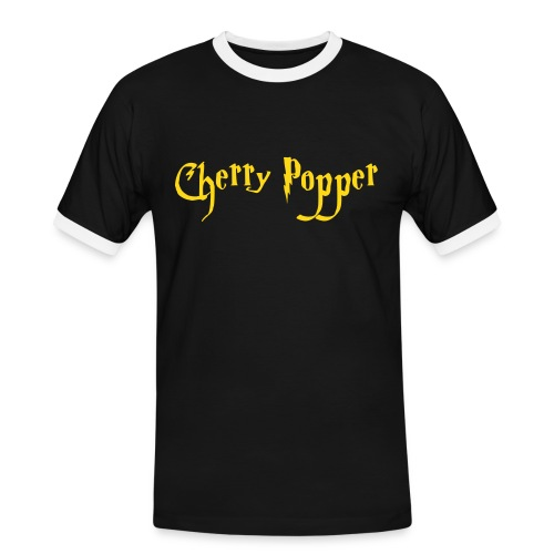 cherry vector - Men's Ringer Shirt