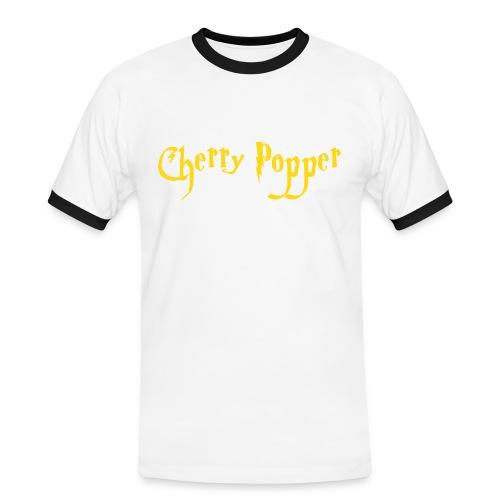 cherry vector - Men's Ringer Shirt