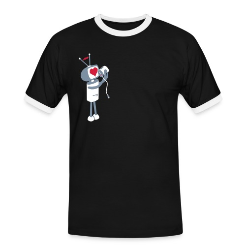Robot - Men's Ringer Shirt