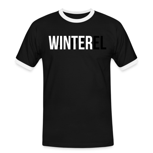 Winter Apparel Logo - Herre kontrast-T-shirt