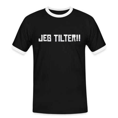 Jeg TILTER! - Herre kontrast-T-shirt