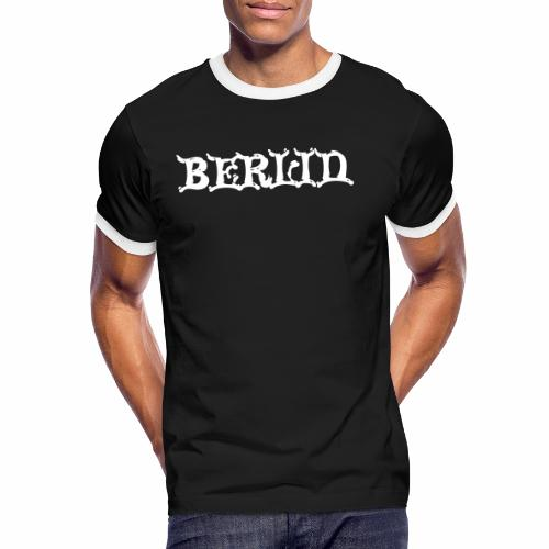 berlin - Männer Kontrast-T-Shirt