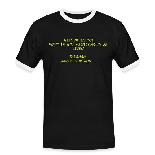 GEWELDIG 01 - T-shirt contrasté Homme