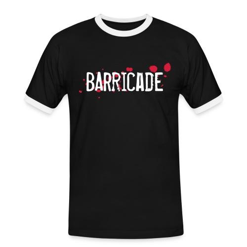 barricade tshirt - Männer Kontrast-T-Shirt