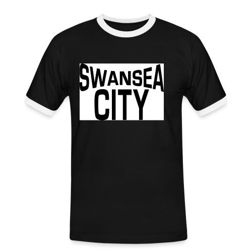 swansea city - Men's Ringer Shirt