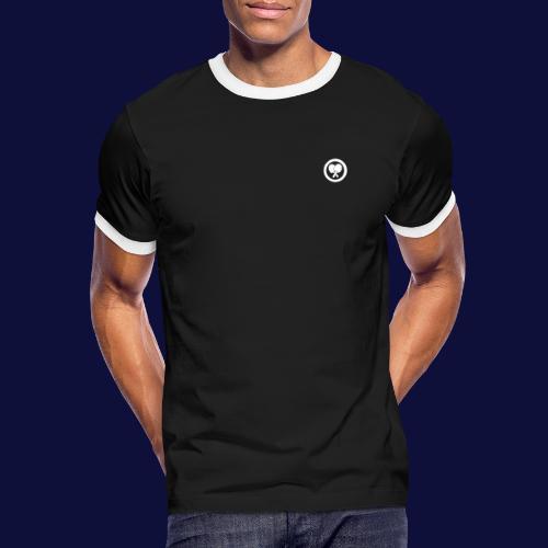 MINILOGO W - Männer Kontrast-T-Shirt