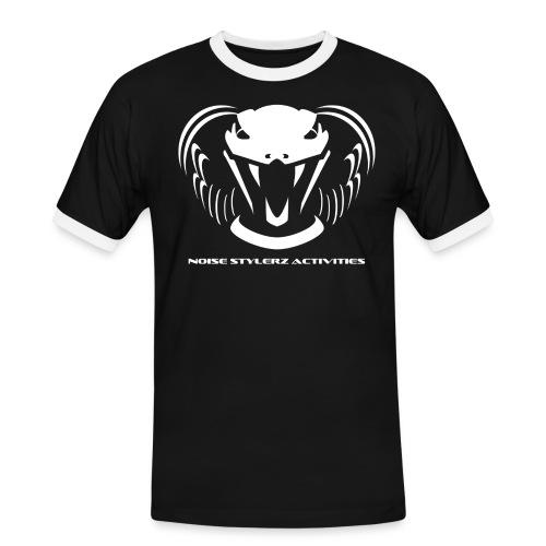LOGONSABlancTrans png - T-shirt contrasté Homme
