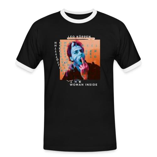 SHIRT4 - Männer Kontrast-T-Shirt