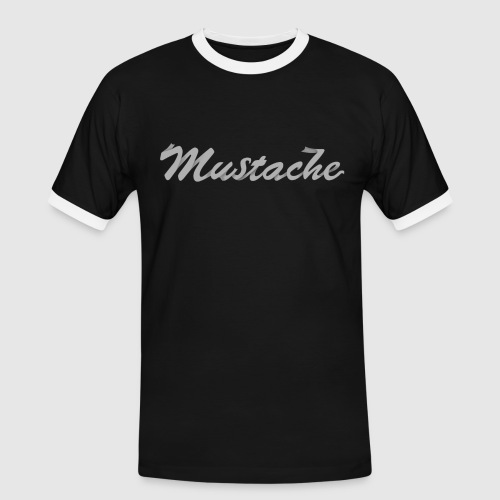 White Lettering - Men's Ringer Shirt