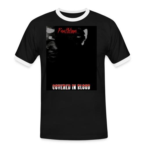 coveredinbloodcovershirt - Miesten kontrastipaita