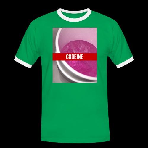 CODEINE STREETWEAR - Maglietta Contrast da uomo