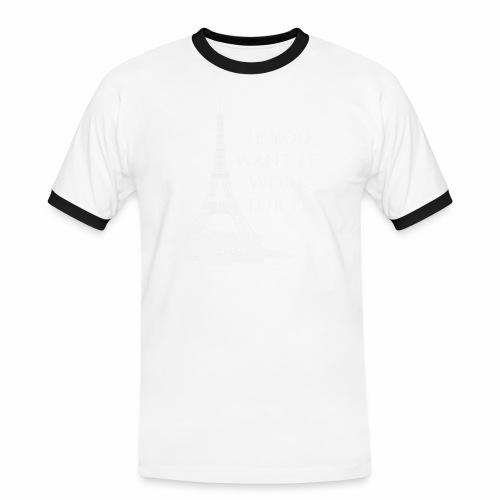Paris dream work - T-shirt contrasté Homme