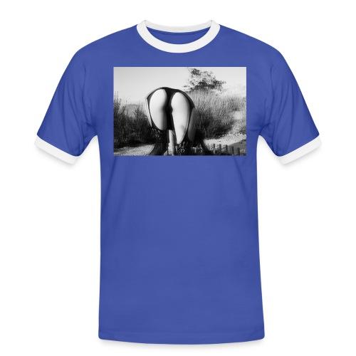 distorsion - Camiseta contraste hombre