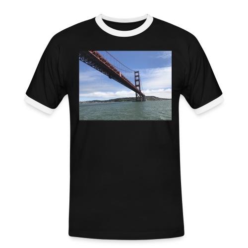 Golden Bro - Herre kontrast-T-shirt