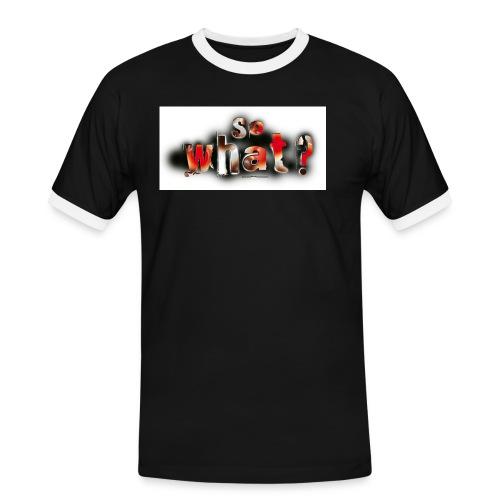 logo3002 - Männer Kontrast-T-Shirt