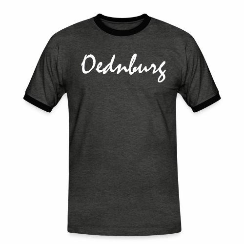 Oednburg Wit - Mannen contrastshirt