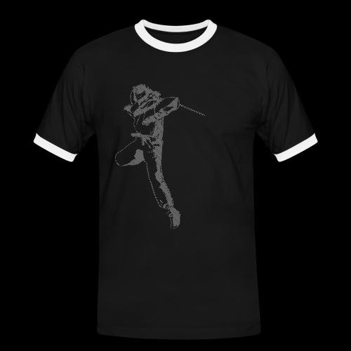 canniste lignes - T-shirt contrasté Homme