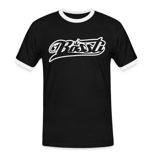 Bossti Hoodie - Männer Kontrast-T-Shirt