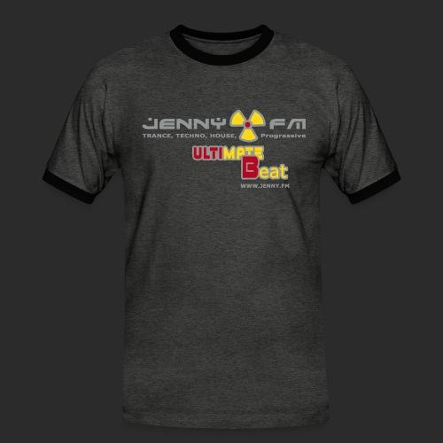 jennyultimatebeat - Männer Kontrast-T-Shirt