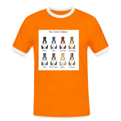 Dutch Rabbit Colours - Men's Ringer Shirt