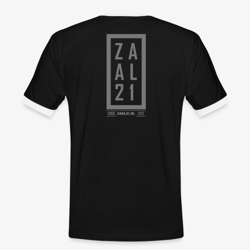 T-SHIRT-BLOK - Mannen contrastshirt