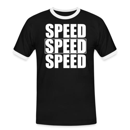SPEED Mens MOTORSPORT Hoodie and Tee - Men's Ringer Shirt