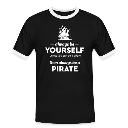 Be a pirate! (light version) - Men's Ringer Shirt