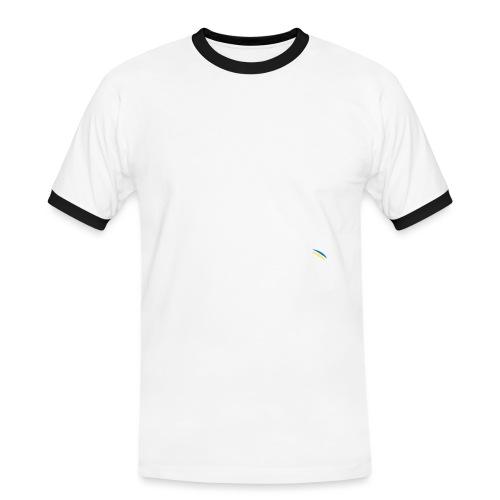 Borg McEnroe Retro Green+White - Miesten kontrastipaita