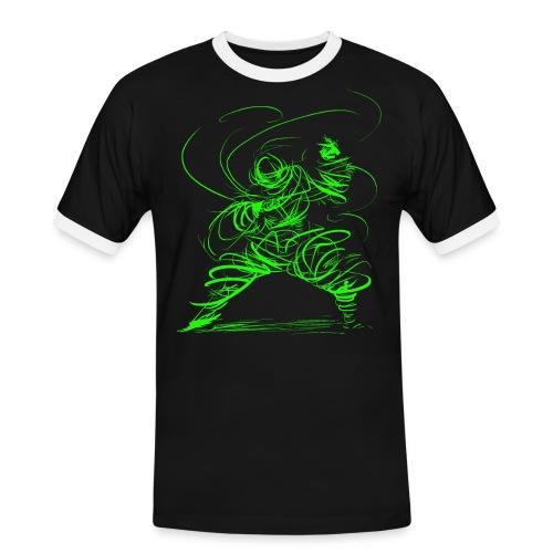 Kung Fu Sorcerer / Kung Fu Wizard - Men's Ringer Shirt