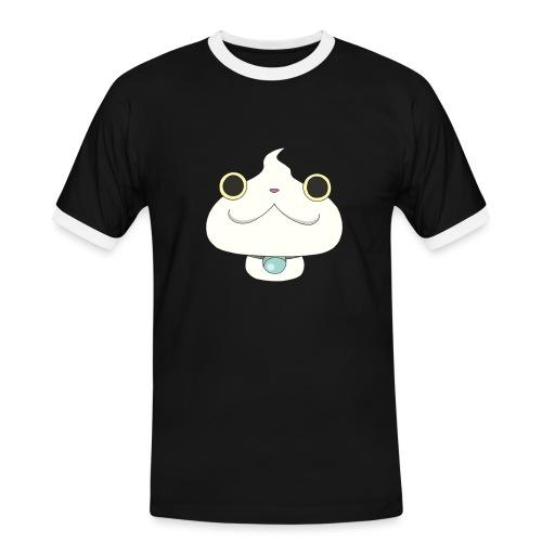 Muso Nyan - Maglietta Contrast da uomo