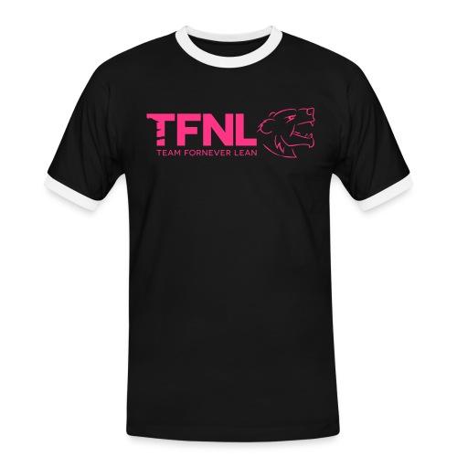 TFNL Pink Logo Tee - Men's Ringer Shirt