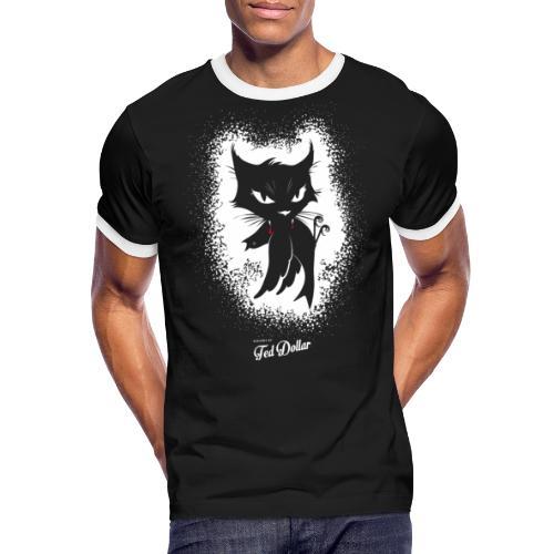 Dirty Little Pussy - T-shirt contrasté Homme
