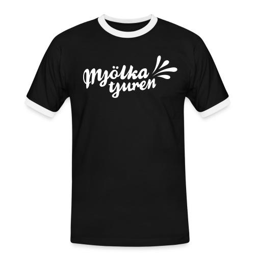 MJÖLKA TJUREN! - Kontrast-T-shirt herr