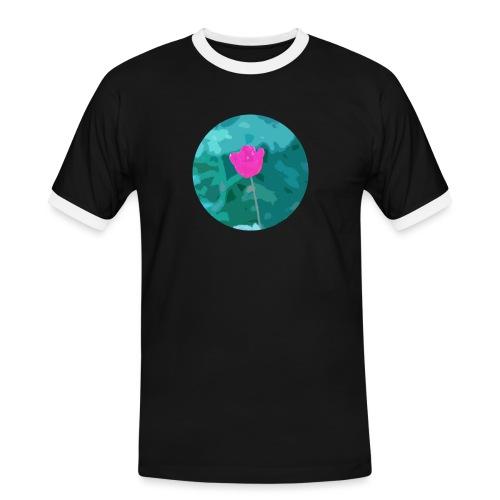 Flower power - Mannen contrastshirt