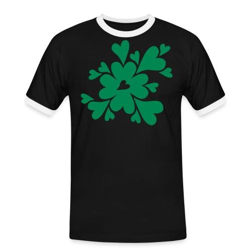 HJÄRTAN - Kontrast-T-shirt herr