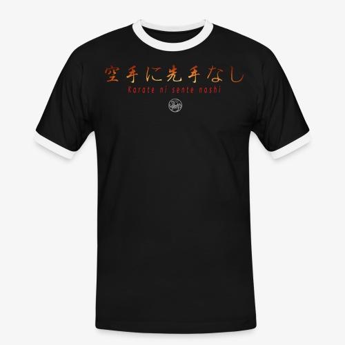 karate ni sente nashi version 1 - T-shirt contrasté Homme