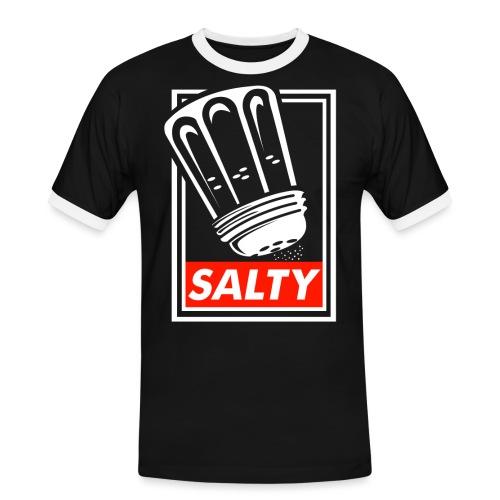 Salty white - Men's Ringer Shirt