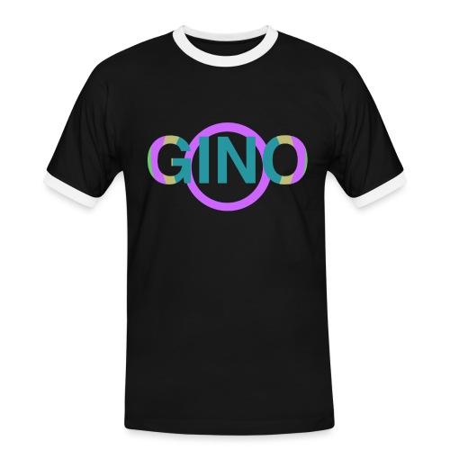 Gino - Mannen contrastshirt