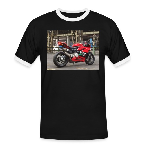 Panigale 959 Race - Männer Kontrast-T-Shirt