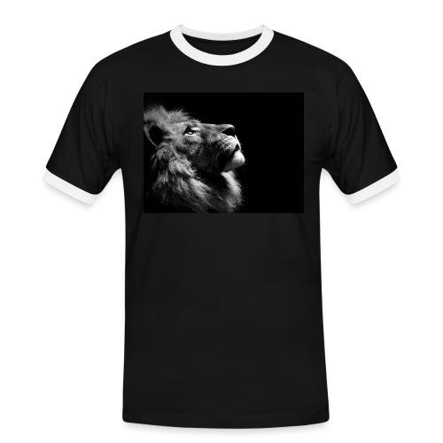 af2008e0d300f6fd3ca5b2617a06dff6 - Kontrast-T-skjorte for menn