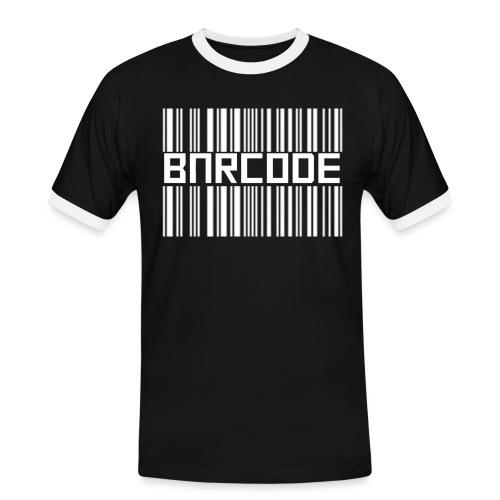 BARCODE BLACK - Men's Ringer Shirt