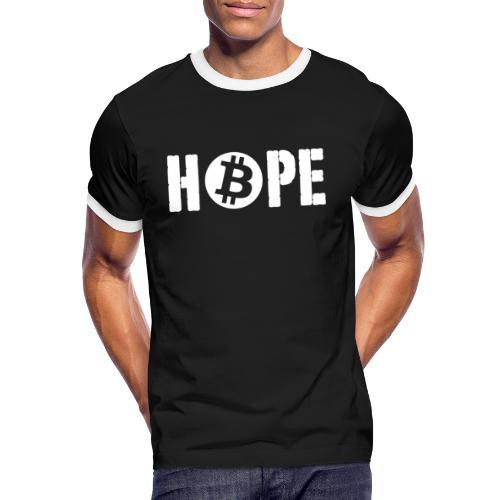 Black HOPE BTC - T-shirt contrasté Homme