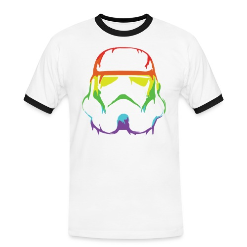 Pride Trooper - simple - Miesten kontrastipaita
