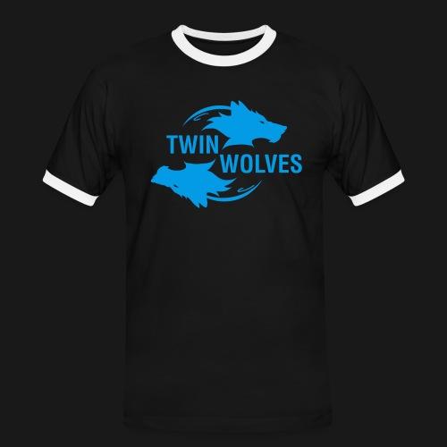 Twin Wolves Studio - Maglietta Contrast da uomo