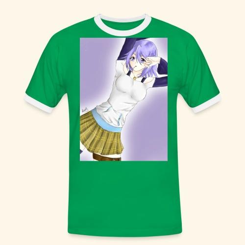 Mizore Shirayuki - Men's Ringer Shirt